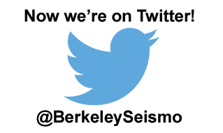 Now we're on Twitter @BerkeleySeismo