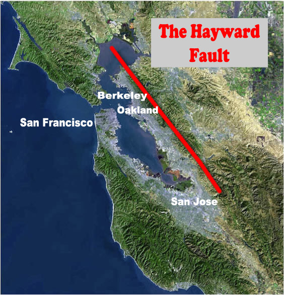UC Berkeley Seismology Lab - Berkeley on us map
