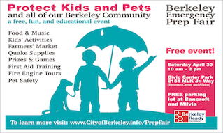 Berkeley Emergency Prep Fair