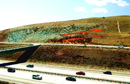 The San Andreas Fault at Tejon Pass