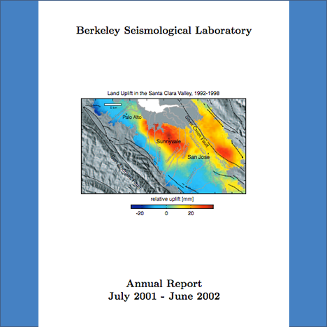 Cover image of 2001-2002 Annual Report