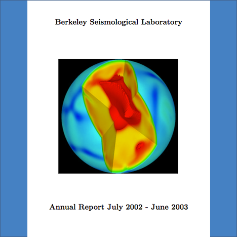 Cover image of 2002-2003 Annual Report