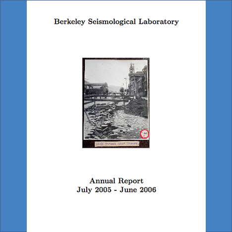 Cover image of 2005-2006 Annual Report