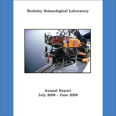 Cover image of 2008-2009 Annual Report