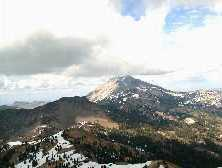 View of Mt. Lassen<br>Courtesy of the NPS