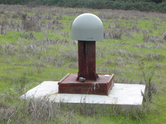 Completed OHLN site, with GPS monument