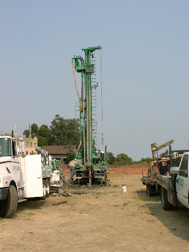Drilling at SVIN