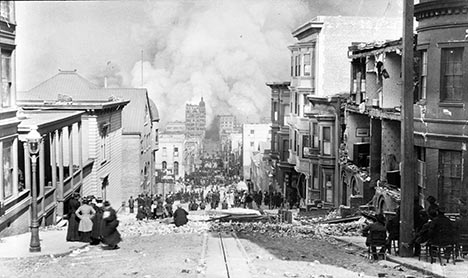 Damage from Great San Francisco earthquake