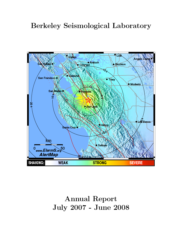Cover image of 2007-2008 Annual Report