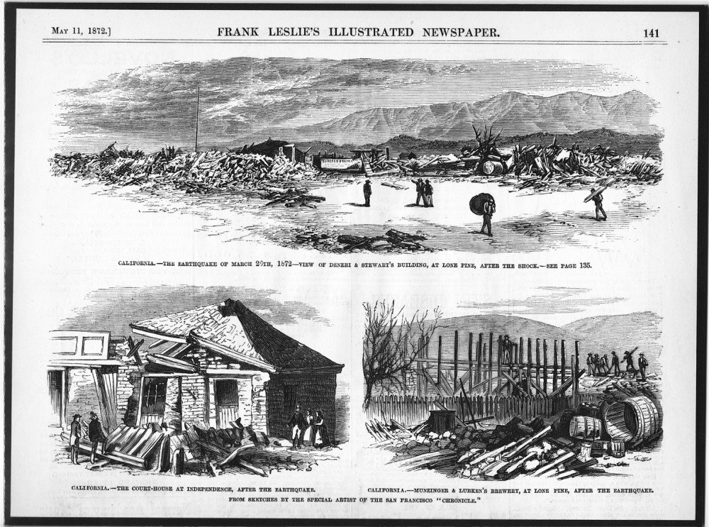Today in Earthquake History: Owens Valley 1872